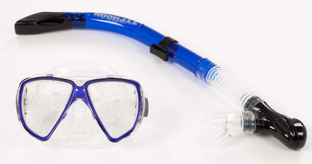 Typhoon Adult Silicone Pro Snorkel Set