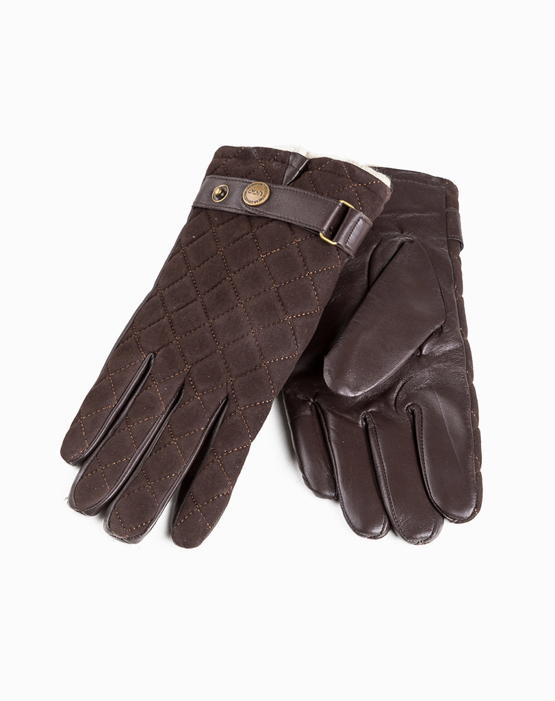 UGG MENS QUILTED TS GLOVES