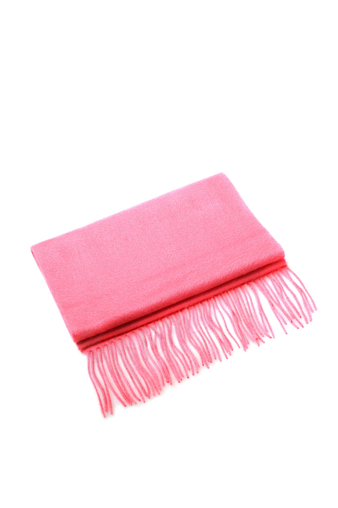 CASHMERE AND WOOL SCARF- WATERMELON