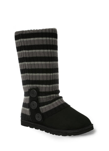 UGG CARDY SOCKS - BLACK/CHARCOAL/GREY