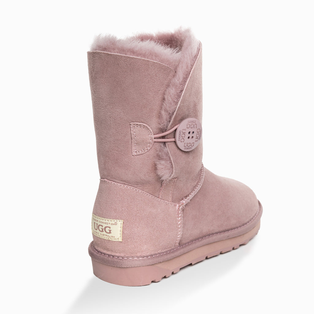 36ecdd3891d NEW GENERATION' UGG LADIES CLASSIC 3/4 SHORT BUTTON BOOT(SPECIAL ...