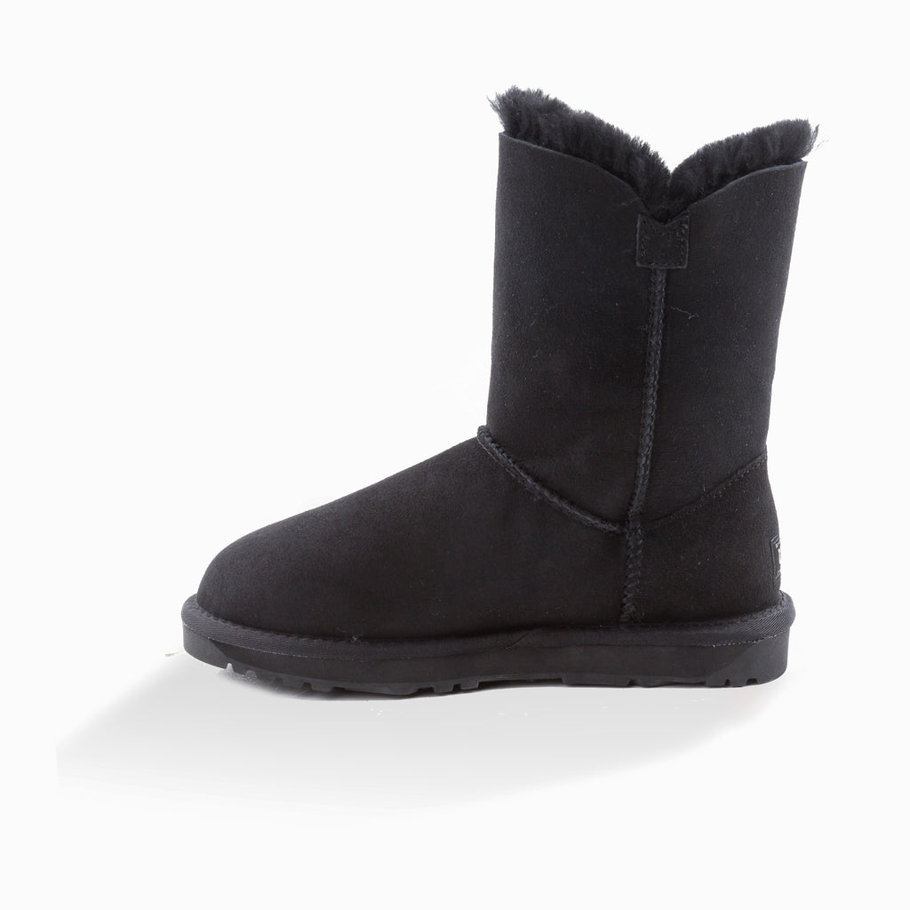 34a50f853e9 NEW GENERATION' UGG LADIES CLASSIC 3/4 SHORT BUTTON BOOT – OZuggwear