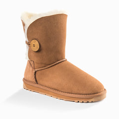 'NEW GENERATION' UGG LADIES CLASSIC 3/4 SHORT BUTTON BOOT
