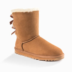 'NEW GENERATION' UGG LADIES CLASSIC BAILEY BOW BOOTS 2 RIBBON BOOT