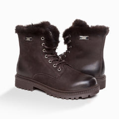 UGG BRYNN MENS FUR TRIMMING BOOTS