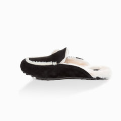 Ugg Eva love heart slipper - black