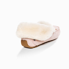 Ugg Jacee collar moccasin (inner wedge) - dusty pink