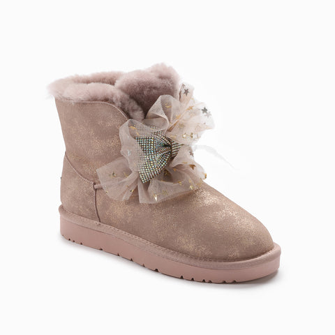 UGG BROOKE BLING BOW BOOTS