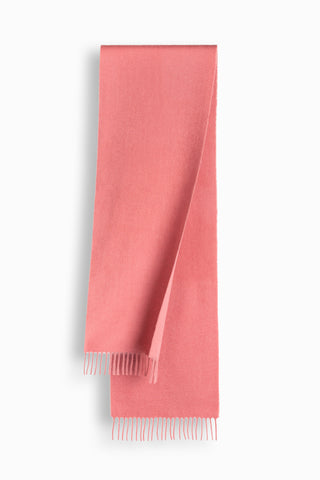 100% WOOL SCARF - DUSTY PINK