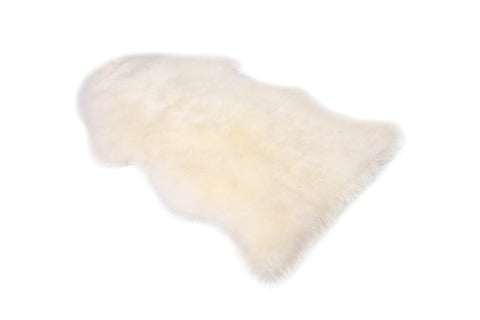 SHEEPSKIN RUG SINGLE - 90cm x 55cm