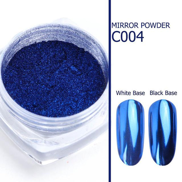 1pcs Nail Art Mirror Pigment Powder Nail