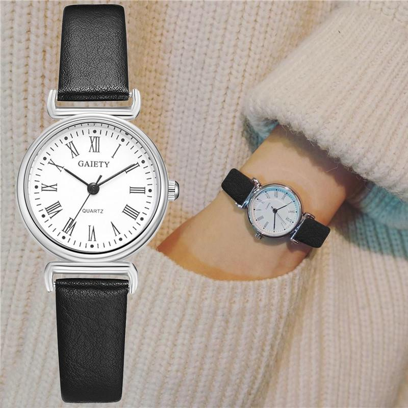 Retro Leather Bracelet Wristwatches