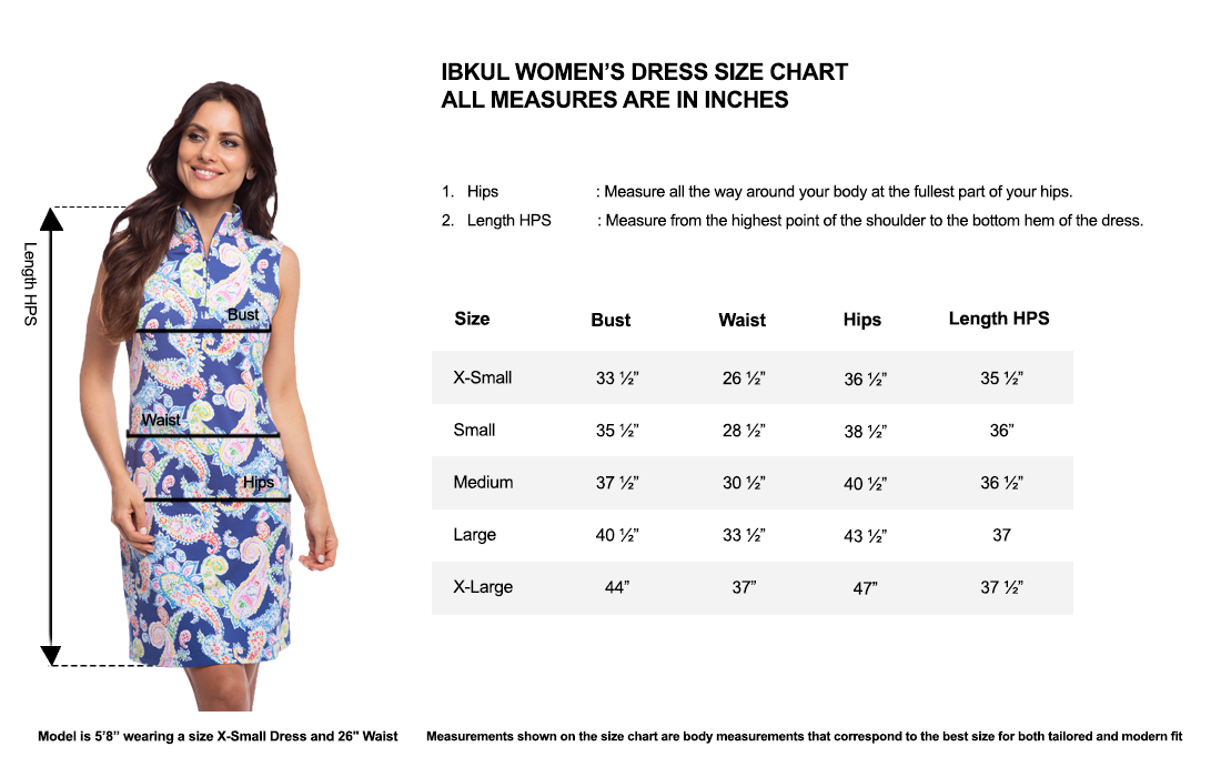 IBKUL Sleeveless Mock Neck Dress in Print