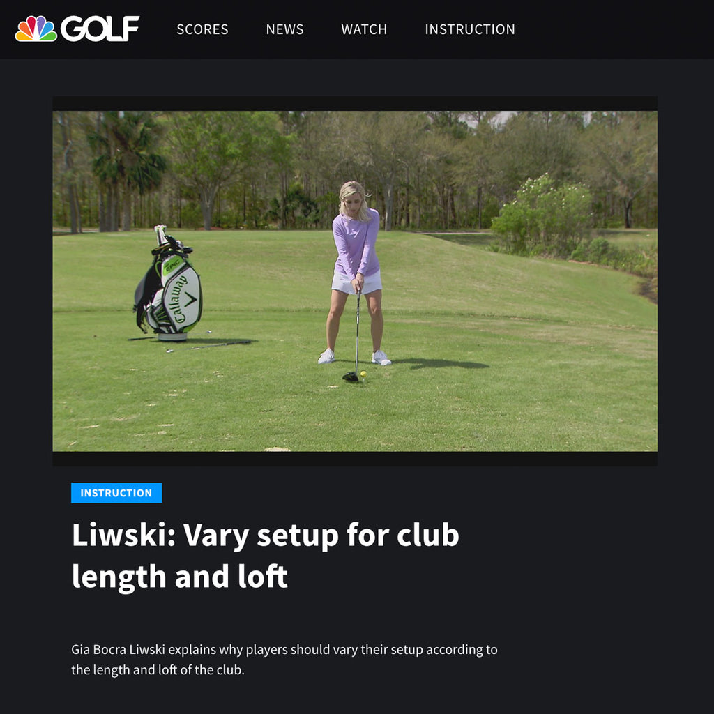 LPGA teaching professional Gia Liwski