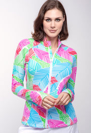 Marley Print Knit Jacket 18181