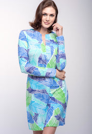 Marley Print Zip Front Dress 52181