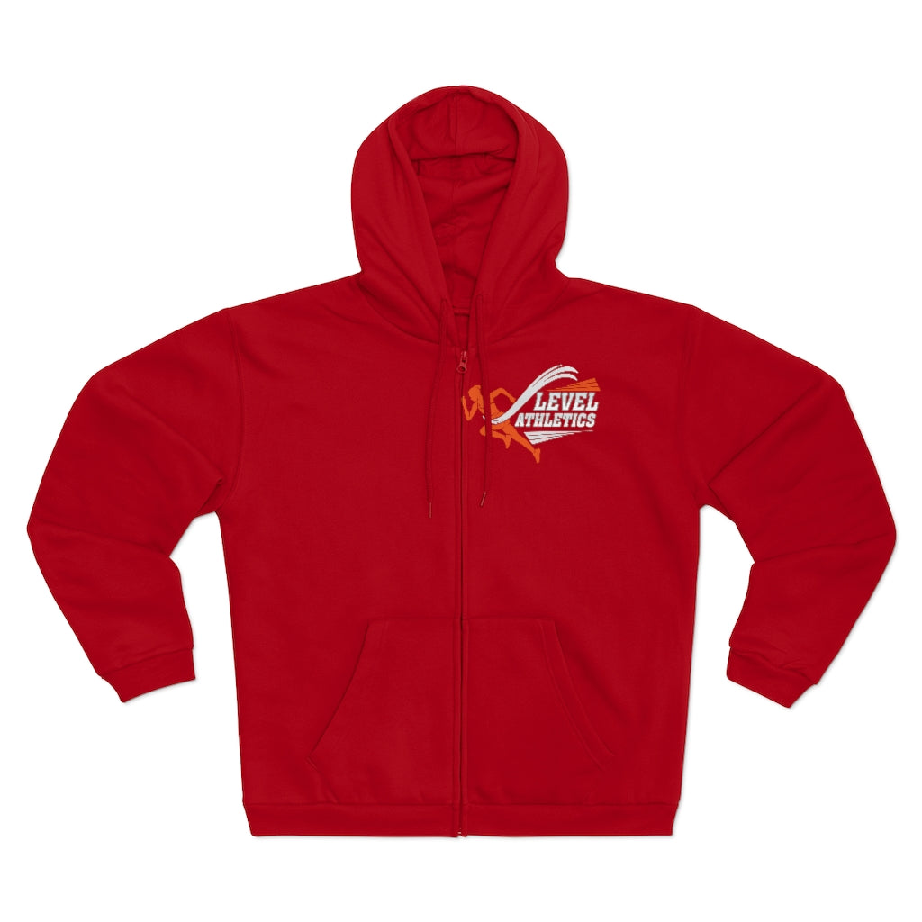 Women Hooded Zip Sweatshirt - Level Athletics
