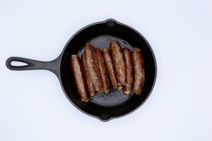 English Banger Breakfast Sausage - Elevation Beef
