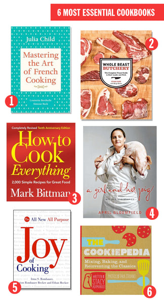 6 Most Essential Cookbooks For Any Kitchen