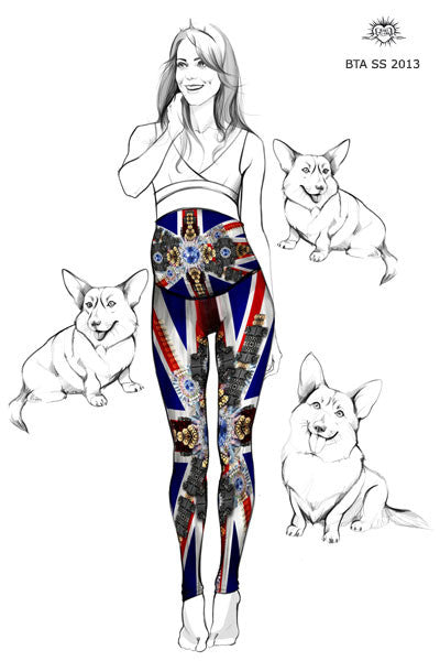 Jewel Mom - This stylish and unique Kate Middleton inspired leggings p1
