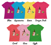 Hamster Wizard - Bold Colors Women's T-Shirt