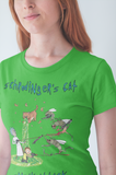 Schrodinger's Cat Sneak Attack - Bold Colors Women's T-Shirt
