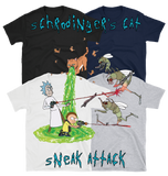 Schrodinger's Cat Sneak Attack - Everyday Colors T-Shirt