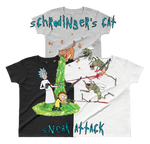 Schrodinger's Cat Sneak Attack - Everyday Colors Women's T-Shirt