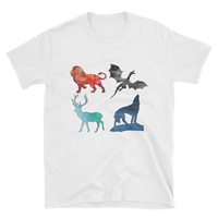 Watercolor Animals - Everyday Colors T-Shirt