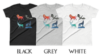 Watercolor Animals - Everyday Colors Women's T-Shirt