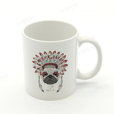 Mug attrape rêve <br> Bulldog - le-monde-des-attrapes-reves
