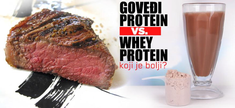 Goveđi (Beef) protein VS Whey protein