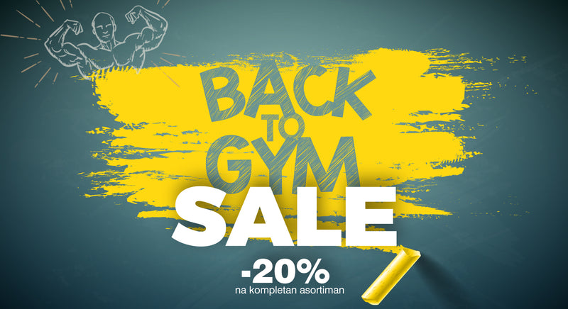 Back to Gym SALE