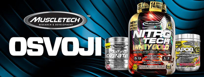 MuscleFreak & MuscleTech Nagradna Igra