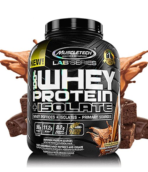 MuscleTech Lab Series Whey Protein Plus Isolate - Muscle Freak