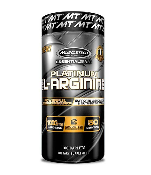 MuscleTech Platinum 100% L-Arginine - Muscle Freak