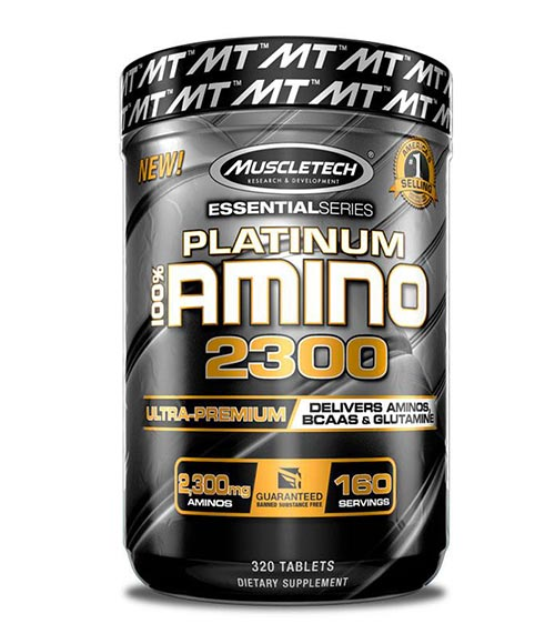 MuscleTech Platinum 100% Amino 2300 -50% - Muscle Freak