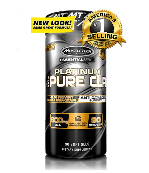 Muscletech Platinum Pure CLA - Muscle Freak