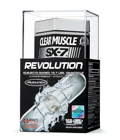 MuscleTech Clear Muscle SX-7 Revolution - Muscle Freak