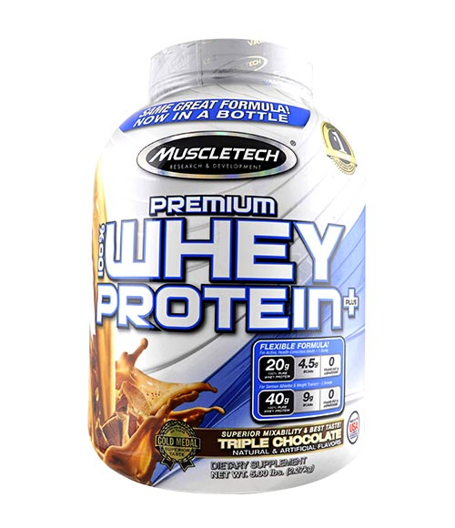 MuscleTech Premium 100% Whey Protein Plus - Muscle Freak