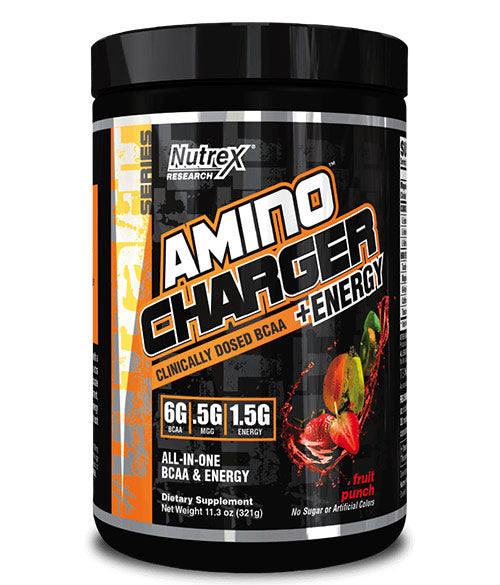 NUTREX AMINO CHARGER +ENERGY - Muscle Freak