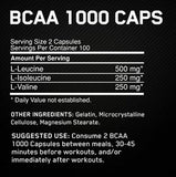 Optimum Nutrition BCAA 1000 Caps - Muscle Freak - 2