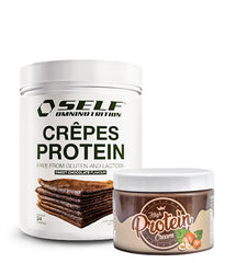 Self Omninutrition Crepes + Muscle Freak High Protein Cream