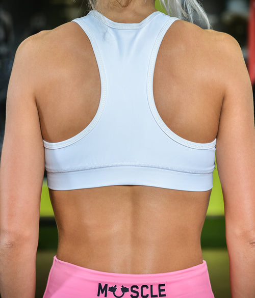 "MuscleFreak Fitness Top ""White"" - Muscle Freak"