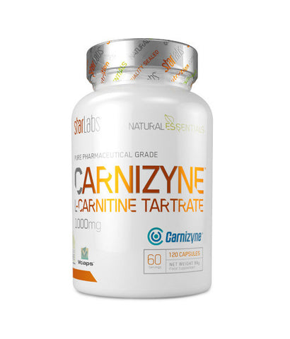 StarLabs Nutrition Carnizyne L-Carnitine Tartrate 120 caps