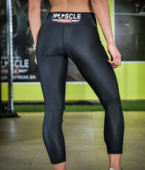 "MuscleFreak Leggings ""BLACK"" - Muscle Freak"