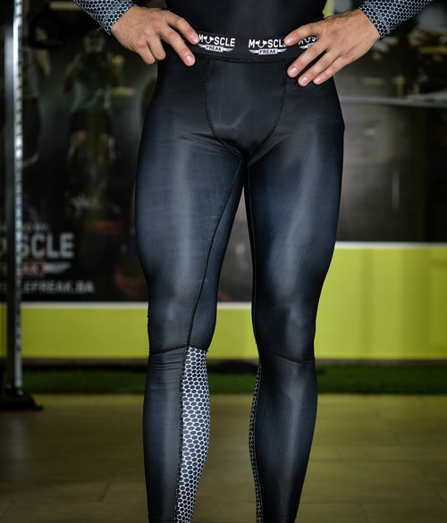 "Muscle Freak Man Leggings ""BLACK"" - Muscle Freak"
