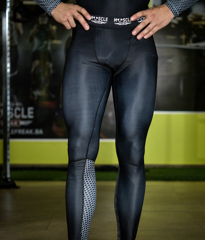 "Muscle Freak Man Leggings ""BLACK"""