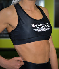 "MuscleFreak Fitness Top ""Black"" - Muscle Freak"