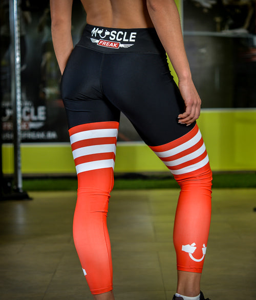 "MuscleFreak Leggings ""Fire"" - Muscle Freak"